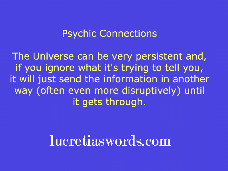 Psychic Connections: Are you blocking your intuition?